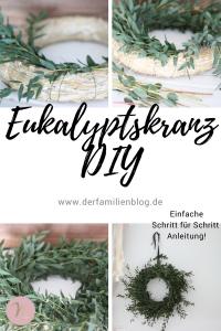 Eukalyptus Kranz Diy Nelefees Der Familienblog