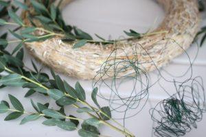 Eukalyptuskranz binden