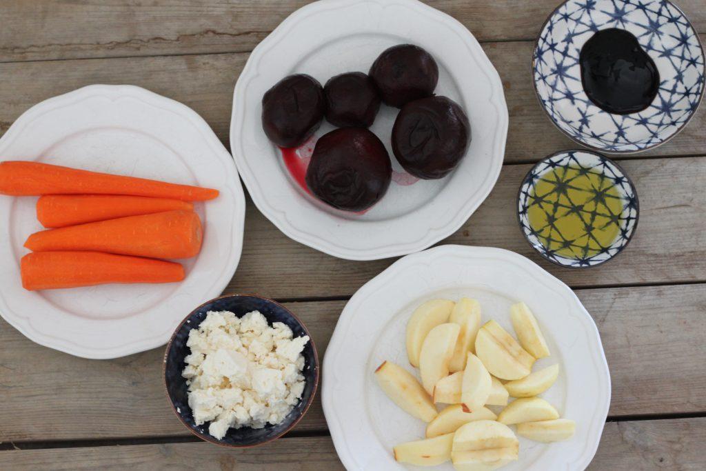 Zutaten Rote Beete Salat