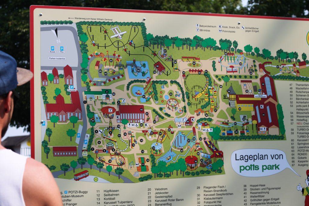 Karte Potts Park
