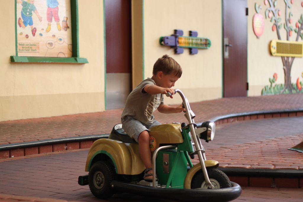 Potts Park Motorrad