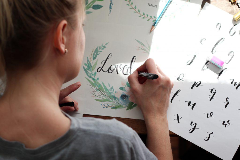 Lettering Kranz