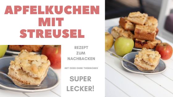 Rezept Apfelkuchen Streusel